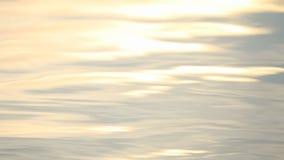 Riflessione di superficie di Bokeh del lago video d archivio