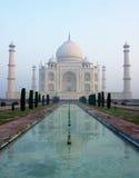 Riflessione di Taj Mahal Fotografie Stock