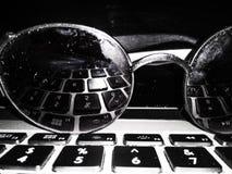 Riflessione di tecnologia fotografia stock libera da diritti