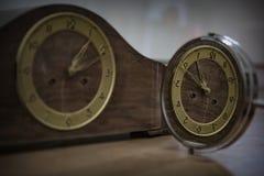 Riflessione di tempo fotografie stock libere da diritti