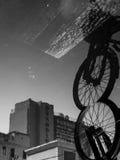 Riflessione di vecchia città immagini stock libere da diritti