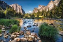 Riflessione di Yosemite Fotografia Stock Libera da Diritti