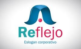 Riflessione 1 - logo Immagini Stock Libere da Diritti