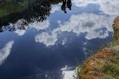 Riflessione nell'acqua Immagini Stock