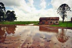 Riflessione rurale Immagine Stock