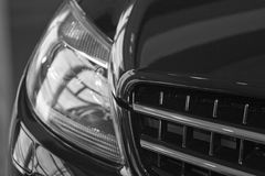 Riflessione sull'automobile immagine stock libera da diritti