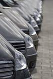 Riflessione sull'automobile Immagine Stock