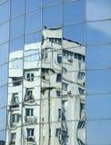 Riflessione sulle finestre Fotografia Stock Libera da Diritti