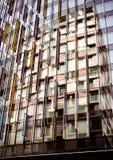 Riflessione variopinta, estratto di architettura Fotografia Stock Libera da Diritti