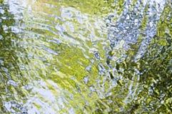 Riflessioni in acqua Immagini Stock