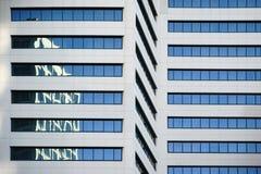 Riflessioni astratte sul grattacielo Fotografia Stock
