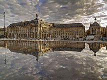 Riflessioni in Bordeaux Immagine Stock