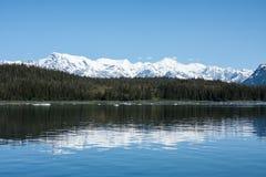 Riflessioni d'Alasca Immagine Stock
