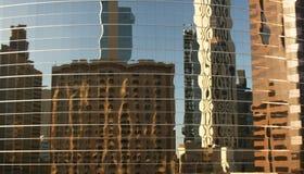 Riflessioni dei grattacieli Fotografie Stock