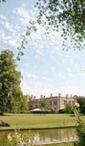 Riflessioni del castello Fotografia Stock