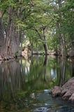 Riflessioni del fiume Fotografia Stock