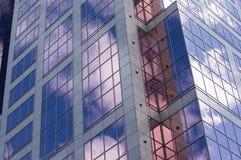 Riflessioni del grattacielo Fotografie Stock Libere da Diritti