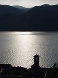 Riflessioni del lago Immagine Stock
