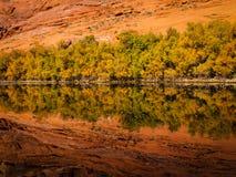 Riflessioni del paesaggio Fotografie Stock
