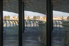 Riflessioni del parasole di metropol fotografie stock