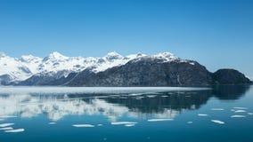Riflessioni della baia di ghiacciaio Fotografia Stock