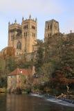 Riflessioni della cattedrale di Durham Fotografie Stock