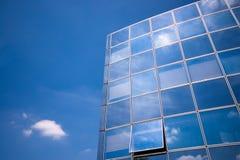 Riflessioni della costruzione di affari Immagini Stock