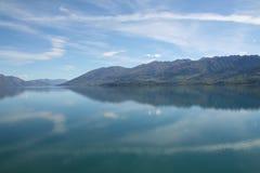 Riflessioni della Nuova Zelanda Immagine Stock Libera da Diritti