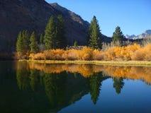 Riflessioni della sierra Nevada Lake immagine stock libera da diritti