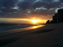 Riflessioni della spiaggia Fotografia Stock