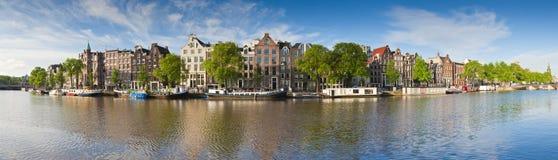 Riflessioni di Amsterdam, Olanda fotografia stock