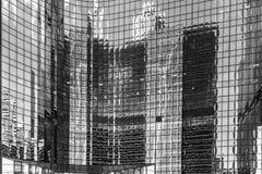 Riflessioni di Chicago Immagini Stock Libere da Diritti