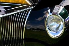 Riflessioni di esposizione di automobile Fotografia Stock Libera da Diritti