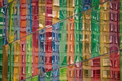 Riflessioni di Glas Fotografie Stock