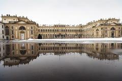 Riflessioni di Reale della villa Fotografia Stock Libera da Diritti
