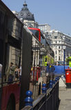 Riflessioni di una via di Londra Immagini Stock