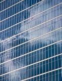 Riflessioni di vetro Fotografia Stock