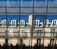 Riflessioni di Windows Fotografie Stock Libere da Diritti