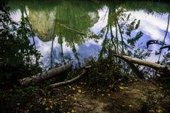 Riflessioni nell'acqua Fotografia Stock