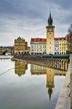 Riflessioni a Praga Fotografia Stock