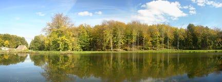 Riflessioni sul lago calmo immagini stock libere da diritti