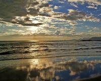 Riflessioni sul mare Fotografia Stock