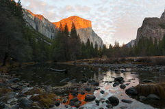 Riflessioni - Yosemite immagine stock
