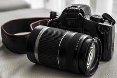Riflesso della macchina fotografica Fotografie Stock