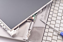 Rifletta la riparazione fotografie stock