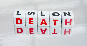 Riflettendo sulla morte Immagini Stock Libere da Diritti