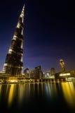 Riflettendo sulla vita, nel Dubai Immagini Stock