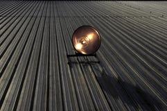 Riflettore del tetto dell'alogeno nell'azione Immagine Stock Libera da Diritti