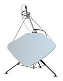 Riflettore parabolico. Illustrazione Vettoriale