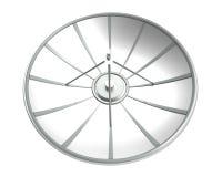 Riflettore parabolico con il percorso di ritaglio Fotografia Stock
